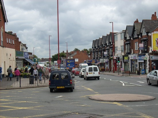 Cotteridge roundabout, 2008