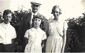 Frank, Ernest, Frances and Elsie Barrack