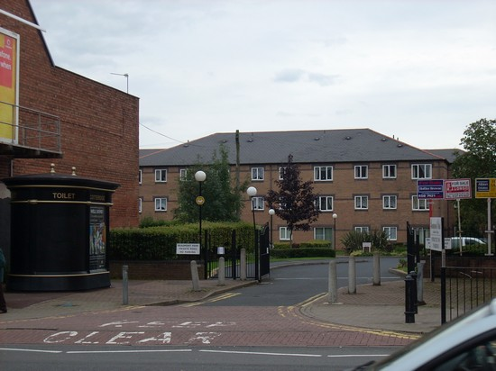 Beaumont Court - the former Cotteridge bus garage which has been sheltered accommodation since the mid eighties when the garage closed.