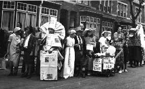 Cotteridge Carnival in the 1950s
