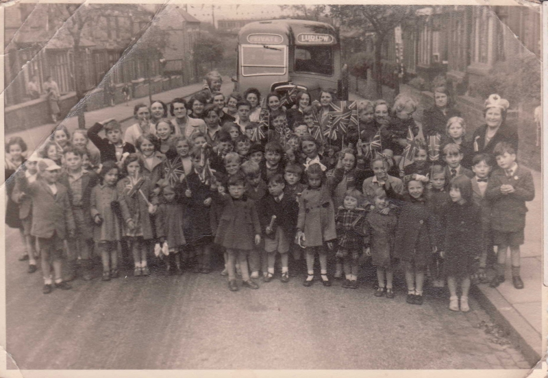 Frances Road excursion, c1952