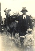 Cliff and his dad, circa 1930/31