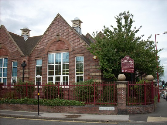 Cotteridge School in 2008 - the annexe building