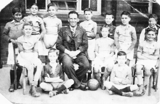 Cotteridge School football team 1945 - 46
