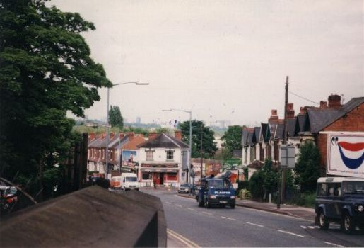 Breedon Bridge towards Stirchley, 1997